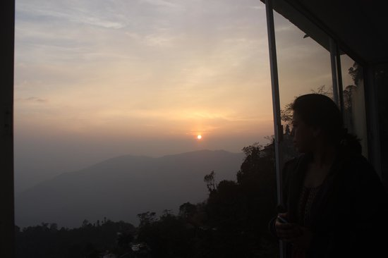 The Retreat : Sunrise from balcony.