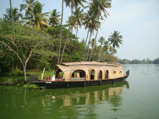 South Canal Holidays : houseboat dans les backwaters