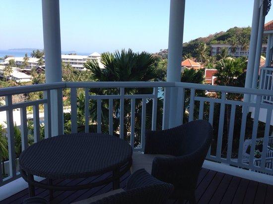 Amatara Wellness Resort: Our balcony