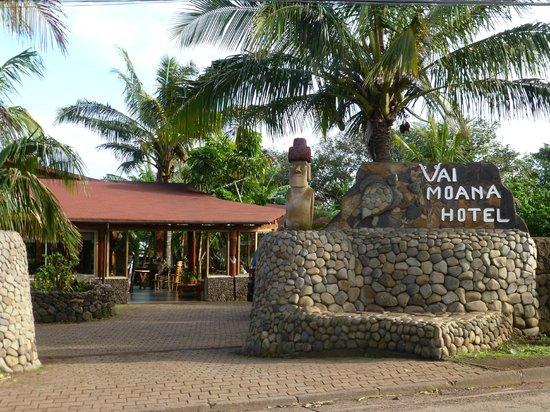 Hotel Vai Moana: Hovedporten