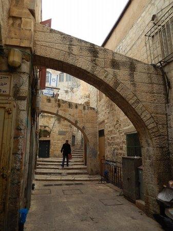 Ruelle De La Vieille Ville De Jerusalem Photo De Touring