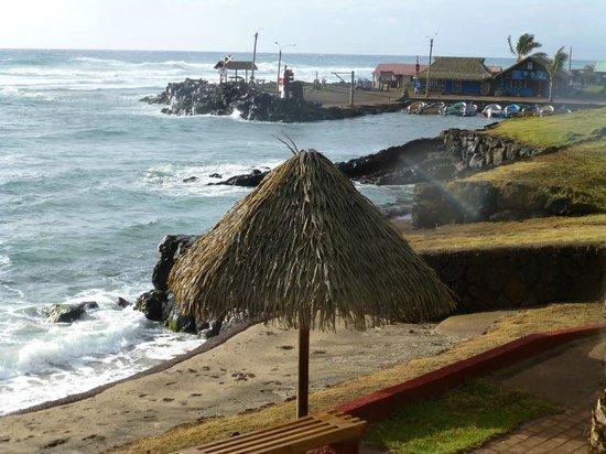 Hotel Vai Moana: Stranda