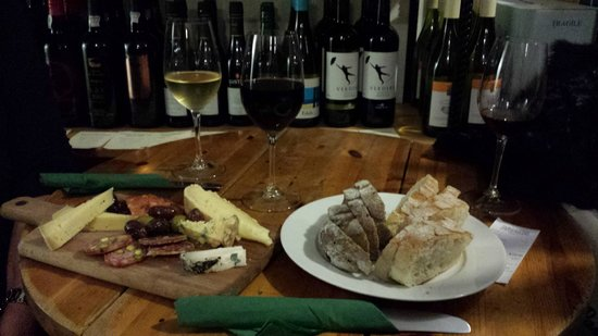 Sheridans Cheesemongers : A match made in heaven....wine, cheese, bread and meats...