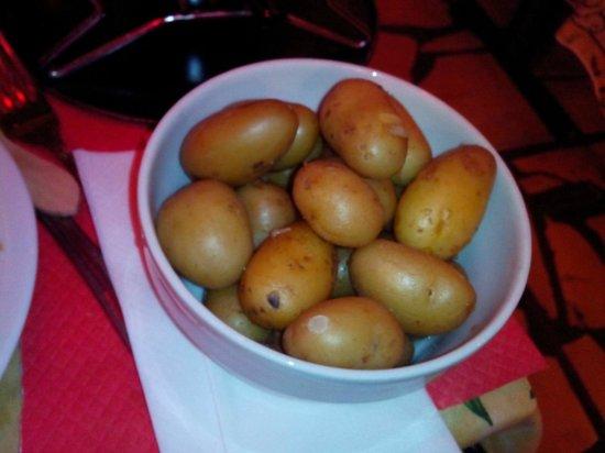 Santorini: petit saladier de pomme de terre pour 4