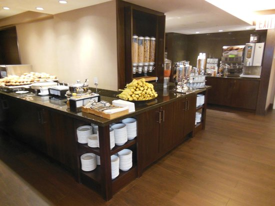 Sheraton New York Times Square Hotel : クラブラウンジ