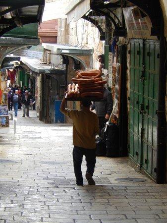 Touring Israel Luxury Day Tours: Les Pains se promènent sur la tête