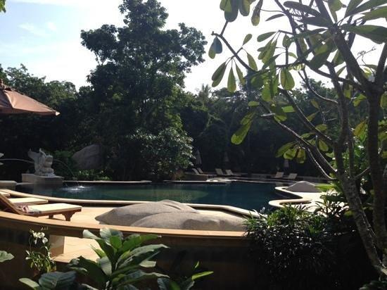 Sensi Paradise: upper pool