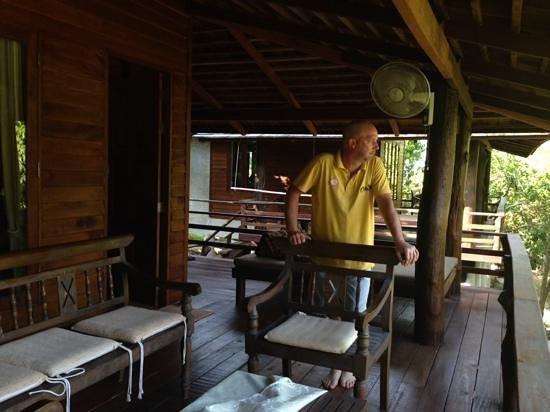 Sensi Paradise: the balcony