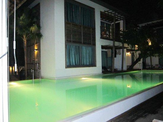 Paragon Inn: La piscina di notte