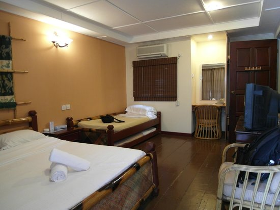 Paya Beach Spa and Dive Resort: standard room