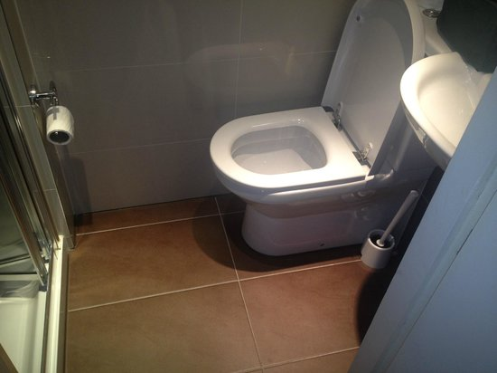 Judd Hotel: Very clean but small toilet