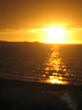 Ristorante La Guinguette : tramonto