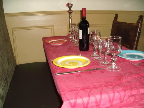 Beyrouth Vins et Mets: table