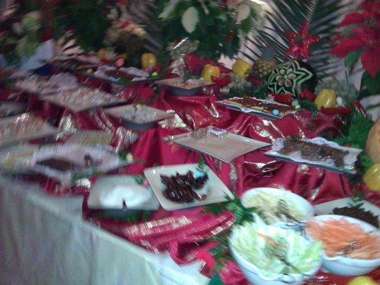 ClubHotel Riu Oliva Beach Resort : Christmas dinner