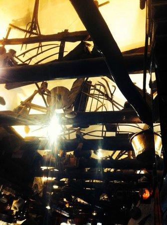 Crepes a Gogo : Le plafond assez original !