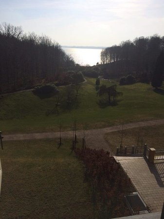 Hotel Vejlefjord : Udsigt fra værelset