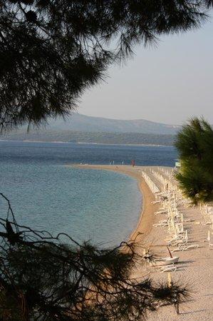 Bol, Croatia: View from Zlatni Rat hotel