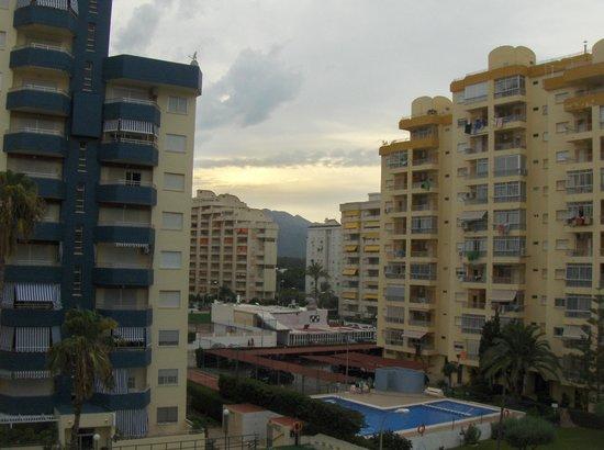 Hotel Los Robles : Vistas desde el balcón