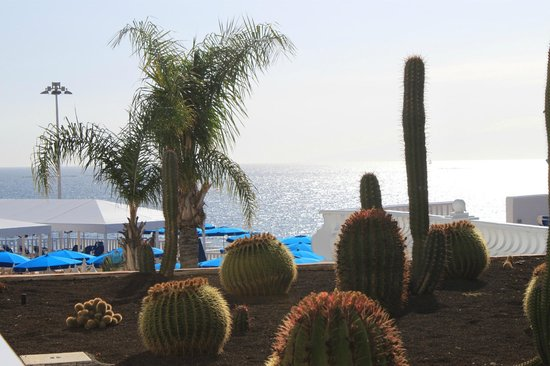 Guayarmina Princess Hotel : Blick vom Balkon auf's Meer