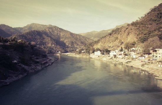 Divine Ganga Cottage: Ganga view