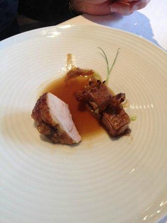 Restaurant Le Clos des Sens : La viande du moment, tendre et savoureuse