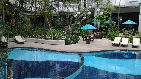 Chatrium Residence Sathon Bangkok: lounge