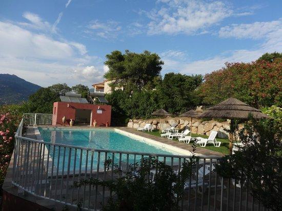 Résidence U Frusteru : piscine