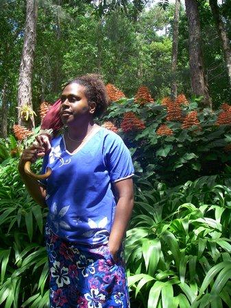 The Summit Gardens Vanuatu: Summit Gardens our guide