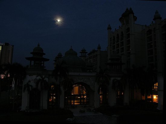 Palace of the Golden Horses: The Hotel, by night