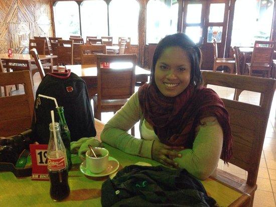 Bromo Permai I : The restaurant