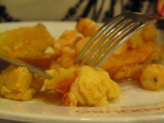 Ribadouro: креветки....ммммм