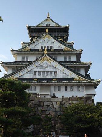 Osaka Castle : esterno del castello