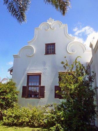 The Estuary Hotel & Spa: Cape Dutch gables