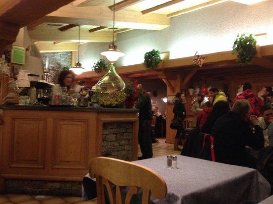 La Tana : Il ristorante dentro