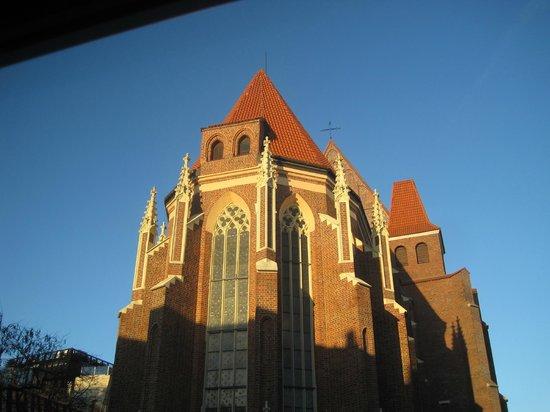St.Dorothy's Hostel Apartments: dalla finestra della stanza