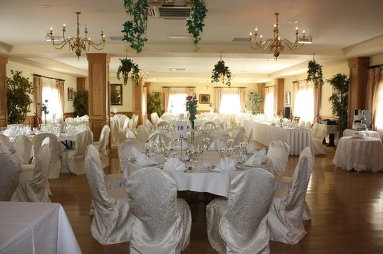 Wedding layout Fairhill House Hotel