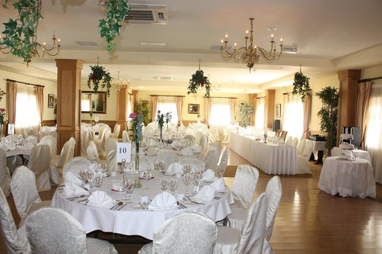 Fairhill House Hotel : Wedding Lay-out