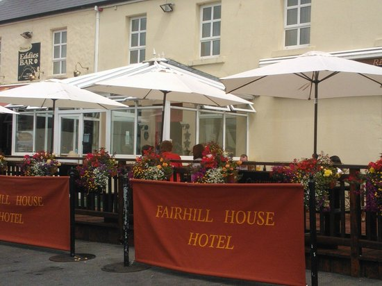 Watch the world go by at Fairhill House Hotel