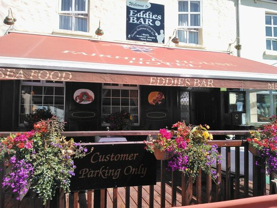 Fairhill House Hotel: Dining al fresco at Eddies