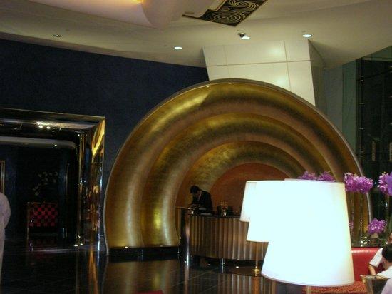 Burj Al Arab Jumeirah: Hall a forma di conchiglia