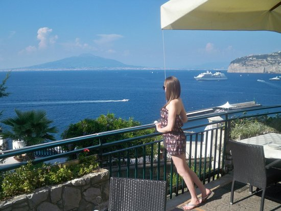 Tui Sensimar Grand Hotel Nastro Azzurro: Sorrento's coast line