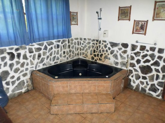 The Lotus Garden: Jacuzzi baño