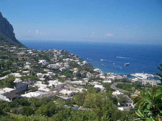 Tui Sensimar Grand Hotel Nastro Azzurro: View from Capri