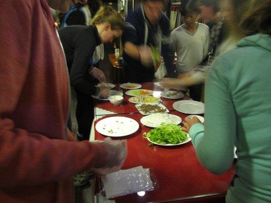 Vega Travel : Cookery class