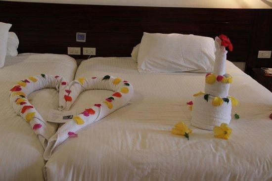 SUNRISE Grand Select Crystal Bay Resort : Вот такую красоту,я получила на свой день рождения!
