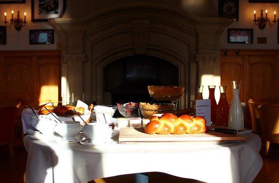 Hotel Pilatus-Kulm: Breakfast Spread for Two
