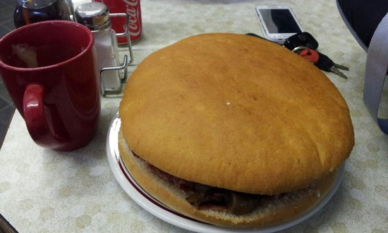 Tempting Somerset Cafe: Big Breakfast Bap!