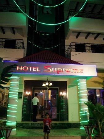 Hotel Supreme Main Entrance...