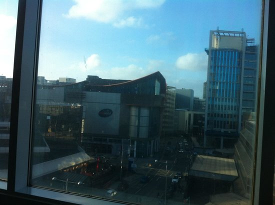 The Big Sleep Hotel Cardiff by Compass Hospitality: Our view from room 608!
