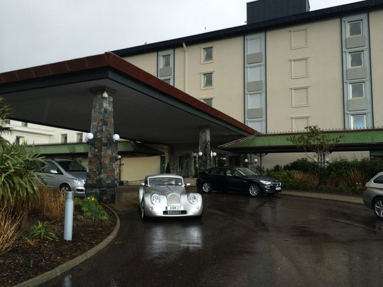 The Europe Hotel & Resort : Morgans stay in nice places.